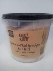 EPSOM AND HIMALAYAN BATH SALTS 2.5KG