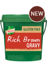 KNORR RICH BROWN GRAVY MIX GLUTEN-FREE 2KG