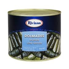 DOLMADES STUFFED VINE LEAVES 2KG