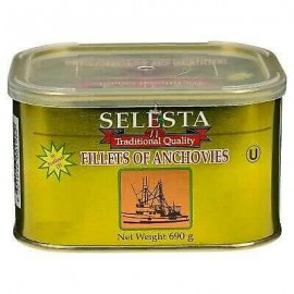 ANCHOVY FILLETS IN OIL 690G