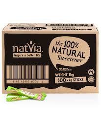 STEVIA NATURALS - NATURAL SUGAR SWEETENER 500 STICKS