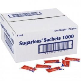 SUGARLESS SUGAR SWEETENER SACHETS 1000