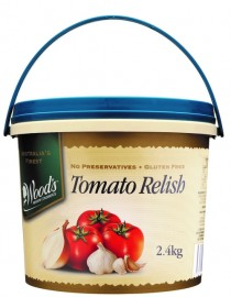 TOMATO RELISH BY WOODS 2.4KG