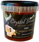 CRYSTAL BROOK RAW ORGANIC HONEY 1KG