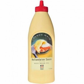 HOLLANDAISE SAUCE 1 LITRE BY FRENCH MAID IN SQUIRT BOTTLE